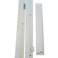 100 mm Karmsæt 1.5 dør 108,6 x 188,9 cm. - HVID
