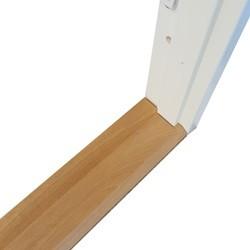 128 mm Bundstykke 1.5 dør 108,6 x 2,1 cm. - Egetræ