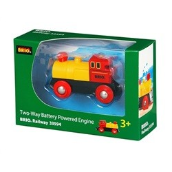 33594 Brio batteridrevet to-vejs lokomotiv