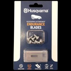6 stk Endurance knive til Husqvarna Automower robotplæneklipper