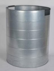 A2 LIVING XL Mega Plantespand - galvaniseret stål, med håndtag
