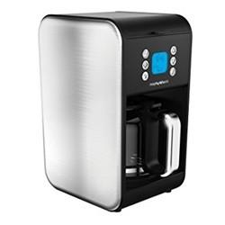 Accent kaffemaskine børstet stål