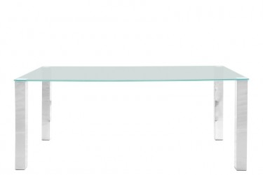 Act Nordic Kante Spisebord - Glasplade, glas, Rektangulær, (75x180x90)