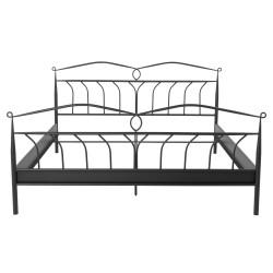 Act Nordic Line seng, kun til boxmadras - sort metal (180x200)