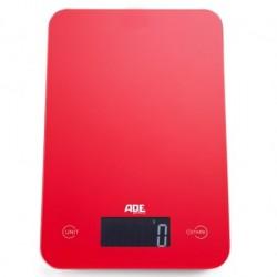 Ade Slim Rød Digital Køkkenvægt