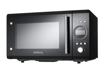 Adelberg Hgf25enid0ts1 Mikroovn - Sort
