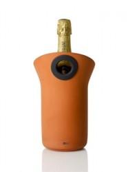 AdHoc ROMA - Vin- & champagnekylare Svart