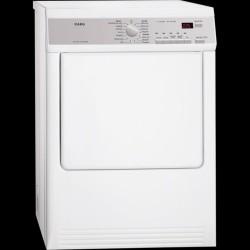 AEG T75170av Aftrækstørretumbler - Hvid