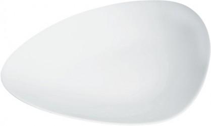 Alessi Colombina Desserttallerken 24 cm hvid