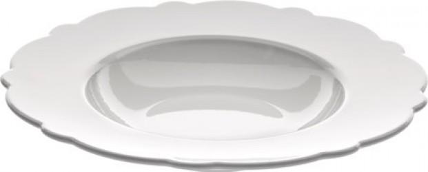 Alessi Dressed dyb tallerken 23,3 cm, hvid