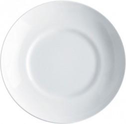 Alessi Mami Suppetallerken, hvid porcelæn