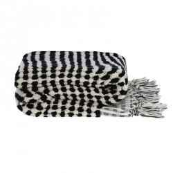 Algan Ahududu Badehåndklæde Sort