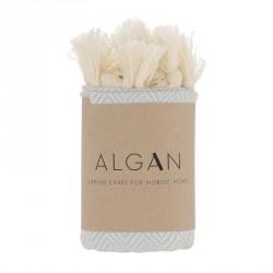 Algan Balik Gæstehåndklæde XS Lyseblå