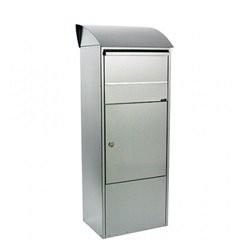 Allux 820 F54820 Postkasse - Galvaniseret