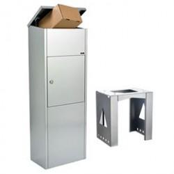 Allux pakkepostkasse - 600 - Galvaniseret stål