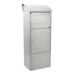 Allux pakkepostkasse - 820 - Galvaniseret stål