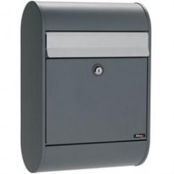 Allux postkasse - 5000 - Antracit/stål