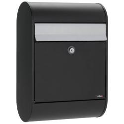 Allux postkasse - 5000 - Sort/stål