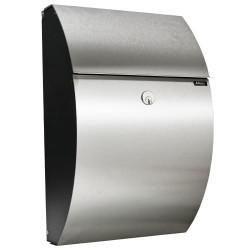 Allux postkasse - 7000 - Sort/stål