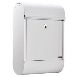 Allux postkasse - 8900 - Hvid