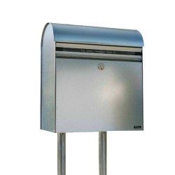 Allux postkasse - KS200 - Galvaniseret stål