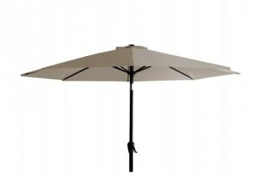 Alu parasol med tilt - Sand