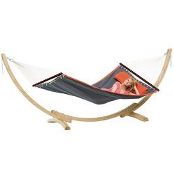 Amazonas hængekøje inkl. stander - American Dream Set - Grå