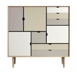 Andersen Furniture - S3 Højskænk - Eg hvidolie - Farve