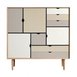 Andersen Furniture - S3 Højskænk - Eg sæbe - Farve