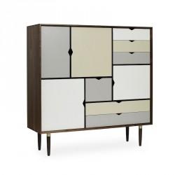 Andersen Furniture - S3 Højskænk - Valnød - Farve