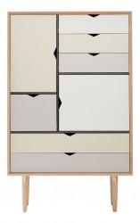 Andersen Furniture - S5 Højskænk - Eg hvidolie - Farve