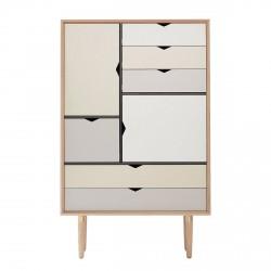 Andersen Furniture - S5 Højskænk - Eg sæbe - Farve