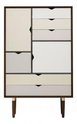 Andersen Furniture - S5 Højskænk - Valnød - Farve