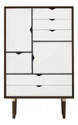 Andersen Furniture - S5 Højskænk - Valnød - Hvid