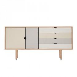 Andersen Furniture - S6 Skænk - Eg sæbe - Farve