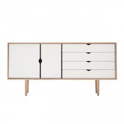 Andersen Furniture - S6 Skænk - Eg sæbe - Hvid