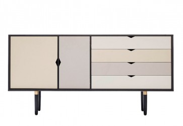 Andersen Furniture - S6 Skænk - Sort lak - Farve