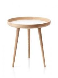 Applicata Tisch Bord Eg/Hvid Ø 49 cm