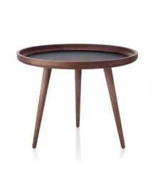 Applicata Tisch Bord Mørk Eg/Sort Ø 69 cm