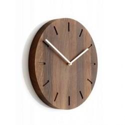 Applicata Watch:Out, smoked oak/brass Ø32cm / H:3 cm