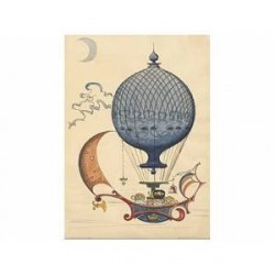 Architectmade Kort Ballonrejse 22 x 16 cm