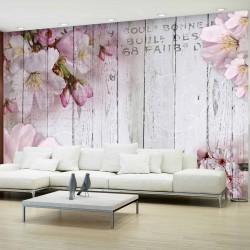 ARTGEIST Apple Blossoms fototapet - multifarvet print (105x150)