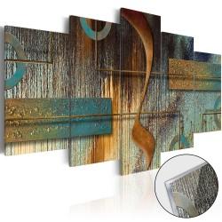 Artgeist billede - Exotic Note, plexiglas 100x50
