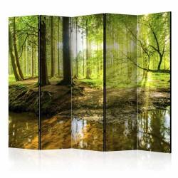 ARTGEIST Forest Lake II rumdeler - multifarvet print (172x225)