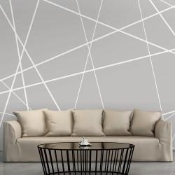 ARTGEIST Fototapet af moderne streger - Modern Cobweb (flere størrelser) 350x245