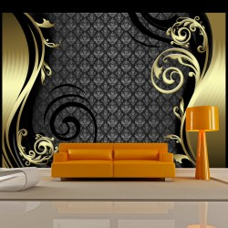 ARTGEIST Fototapet - Golden curtain 100x70