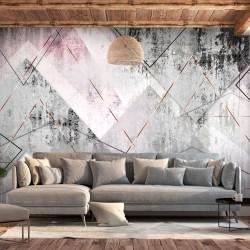 ARTGEIST Fototapet - Triangular Perspective, traingulært og råt (flere størrelser) 150x105