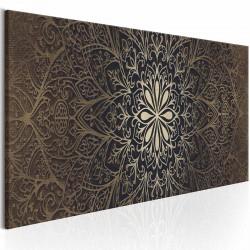 ARTGEIST The Intricate Beauty billede - brun/guld print, 3 størrelser 150x50