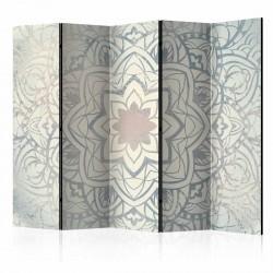 ARTGEIST Winter Mandala II rumdeler - creme/grå print (172x225)