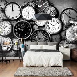 ARTGEISTFototapet - Retro Clocks, retro ure (flere størrelser) 400x280